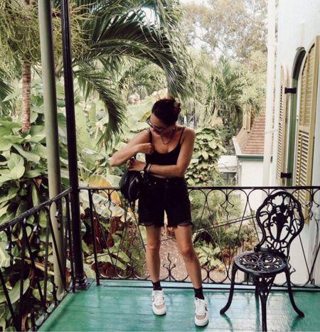The best black denim shorts! Levi's 501 shorts. Shorts under $100. Black denim under $100. Rebecca Piersol style   #LTKSeasonal #LTKstyletip #LTKunder100