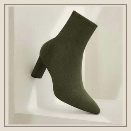 Slip on chunky knit boots from Shein   #LTKstyletip #LTKshoecrush #LTKunder50