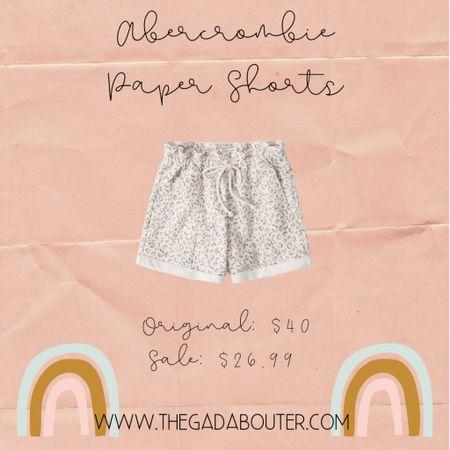 Abercrombie Paper Bag Shorts on sale TODAY! 😍 originally $40 on sale for $26.99!!! http://liketk.it/3dj4u #liketkit @liketoknow.it #LTKsalealert #LTKcurves #LTKstyletip Shop your screenshot of this pic with the LIKEtoKNOW.it shopping app 🛍