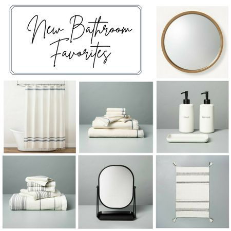 Planning a bathroom update this year so I have started hunting around for what to put in it when we are finished... Check out some of my faves so far!   http://liketk.it/36lpn Shop your screenshot of this pic with the LIKEtoKNOW.it app   @liketoknow.it #liketkit #LTKunder50 #LTKhome @liketoknow.it.home