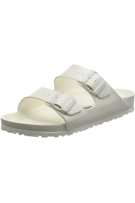 These Birkenstocks make the best lounge shoes as well as shower shoes. I wanted comfy shower shoes when I moved to college so I purchased a pair and do not regret it one bit. They are so supportive and cute! I wear a size 10 so in Birkenstock's that is a 41! #competition  @shop.ltk   #LTKSeasonal #LTKstyletip #LTKshoecrush