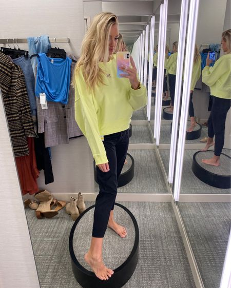 Best zella joggers and Adidas pullover from the Nordstrom Anniversary Sale wearing a small in the top and a small in the pant http://liketk.it/3jHa2 @liketoknow.it #liketkit #LTKsalealert #LTKfit