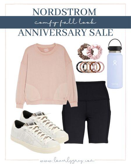 Nordstrom anniversary sale in stock comfy active wear look!   #LTKstyletip #LTKsalealert #LTKunder100