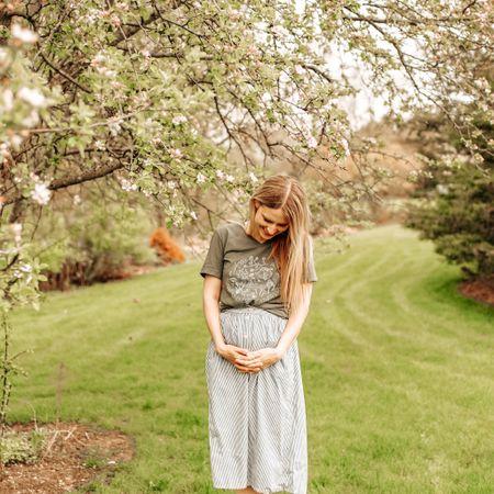 http://liketk.it/2PfZI #liketkit @liketoknow.it springtime first trimester bump friendly outfit