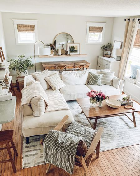 We get a lot of requests for where our living room sectional is from. It's from The Brick which is only available in Canada however I've linked lots of affordable options that are very similar in the @liketoknow.it app. Follow along with us there ( search theBeautyRevival ) or head over to the link in my bio to shop! 💛🌿   http://liketk.it/3hIkL #liketkit #LTKhome @liketoknow.it.home