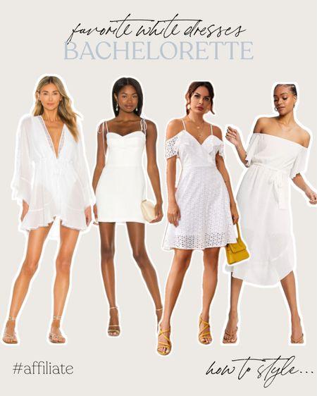 My favorite white summer dresses, bachelorette party edition! http://liketk.it/3igVO @liketoknow.it #liketkit