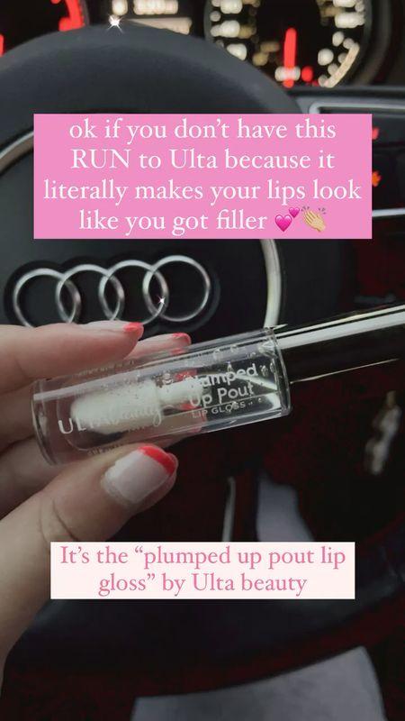 the BEST plumping lip gloss! 👏🏼  #StayHomeWithLTK #LTKVDay #LTKbeauty
