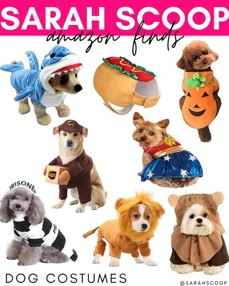Hands down the best part about October is Halloween! Head over to Amazon to let your pet get in on the fun with these super affordable and adorable pet costumes! 🐶🐱🎃  #Halloween#Pet#Dog#Cat#Costume#halloweencostumes#shark#hotdog#pumpkin#UPSdriver#WonderWoman#Prisoner#Lion#Ewok#Amazon#Amazonfinds#dogcostumes#affordable#petcostumes#adorable#amazonfavorites#amazonmusthaves  #LTKHoliday #LTKSeasonal #LTKunder50