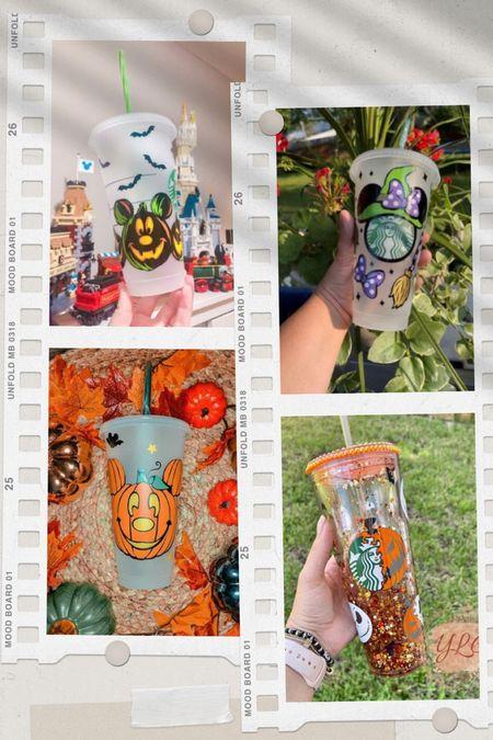 Fall Disney tumblers & Starbucks cups. Etsy Finds | Disney tumblers | Starbucks cups | Mickey Mouse | pumpkins | Mickey pumpkins | fall cups | Halloween cups | Minnie Mouse | Disney Halloween | Halloween tumblers | Hocus Pocus | #ltkkids #ltkhome #ltkbrasil #ltkeurope #ltkmen #ltktravel #ltkaustralia #ltkholiday  #LTKGiftGuide #LTKfamily #LTKSeasonal