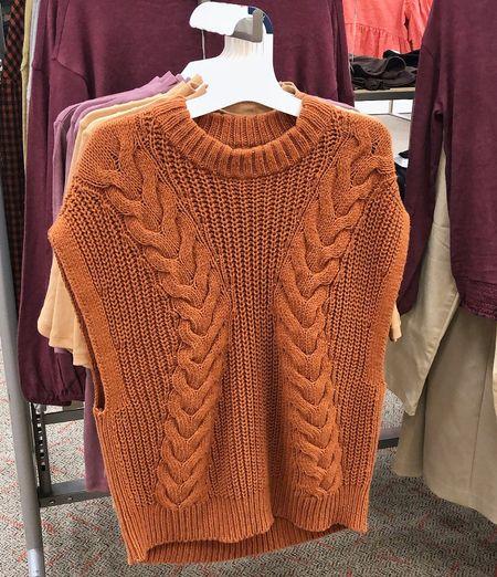 Target Fall Clothes - New Arrivals! A New Day Sweater Vest / Workwear Inspiration | Target, autumn style, fall style, target style #targetstyle #LTKFall #fall fashion  #LTKstyletip #LTKunder50 #LTKworkwear