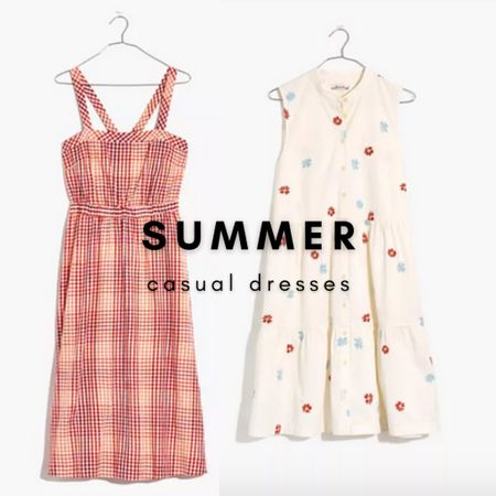 Fresh and flirty summer dresses.   Add some new Madewell midi and mini dresses to your wardrobe with $25 off orders of $125 with code LTKDAY  #LTKsalealert #LTKunder100 #LTKDay