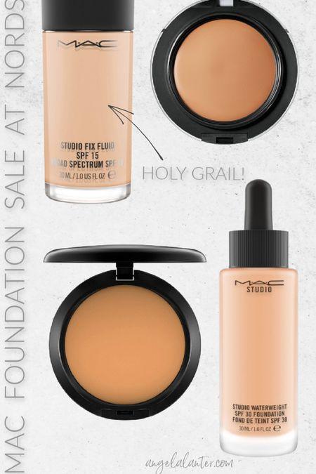 MAC foundation sale at Nordstrom! Get these holy grail pieces!   #LTKsalealert #LTKbeauty #LTKunder50