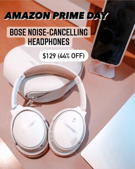 AMAZON PRIME DAY SALE Bose white headphones  iPhone stand  Work from home desk mat pad   @liketoknow.it http://liketk.it/3ida9 #liketkit #LTKhome #LTKsalealert #LTKunder50
