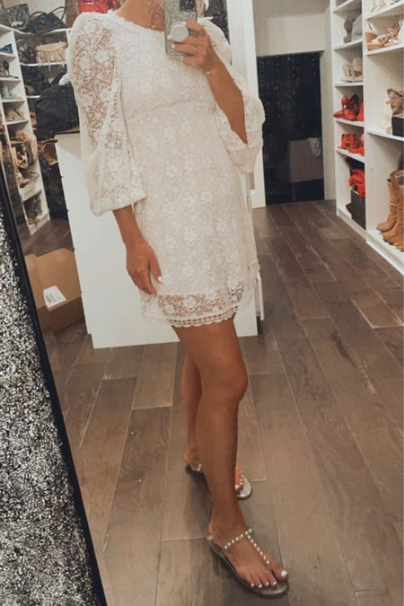 White lace dresses, skirts and shorts on rotation this #ltksummer #whitelace #ltkdress http://liketk.it/3hqGe #liketkit @liketoknow.it #LTKunder100 #LTKstyletip #LTKsalealert Shop your screenshot of this pic with the LIKEtoKNOW.it shopping app