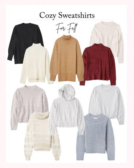 Cozy Sweatshirts and Sweaters for Fall - Fall fashion for women, favorite sweaters   #LTKSeasonal #LTKstyletip