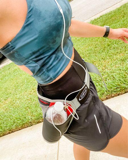 Running Fanny pack, running sports bra .  http://liketk.it/3hSya #liketkit @liketoknow.it #LTKstyletip #LTKfit #LTKcurves