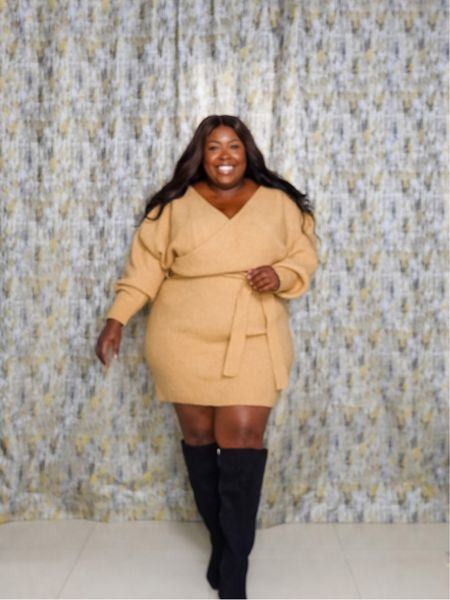 Can you believe this dress is $30? 🍂 Dont forget to check out my Fall Styling Series all month on IG @candesland  #LTKcurves #LTKstyletip #LTKunder50