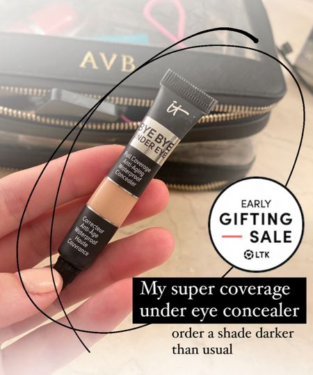 This is the under eye concealer that I wear every day. It has great coverage! A little dab goes a long way. Order a shade darker than your face makeup! I use the medium.   #LTKunder50 #LTKSale #LTKbeauty