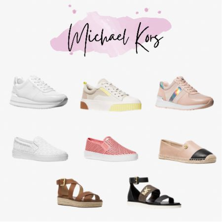 Michael Kors sandals and sneakers on sale! Up to 45% off! #LTKsalealert #LTKunder50 #LTKshoecrush   http://liketk.it/3g0QS #liketkit @liketoknow.it