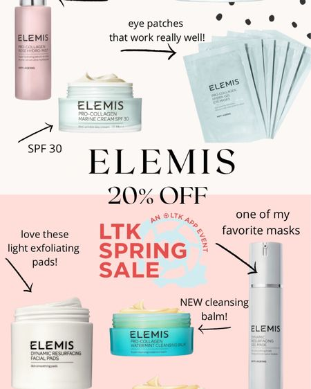 LTK spring sale! 20% off Elemis! http://liketk.it/3clDR #liketkit @liketoknow.it #LTKSpringSale #LTKbeauty #LTKsalealert