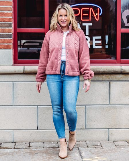 Hurry! This cute Sherpa is online and ready for that weird April weather you might be having! It also comes in a bunch of colors! http://liketk.it/3dwzt #liketkit @liketoknow.it Shop your screenshot of this pic with the LIKEtoKNOW.it shopping app #LTKstyletip #LTKunder100 #LTKunder50  . . . . . . . . .  #ootdshare #bloggerbabe #bloggerstyle #realoutfitgram #mamaswithstyle #realmomstyle #getthelook #styleinspo #michiganblogger #whatiwore #aboutalook #rewardstyleblogger #pursuepretty #affordablefashion #outfitinspo #stylecrush #outfitgoals #basic #springstyle