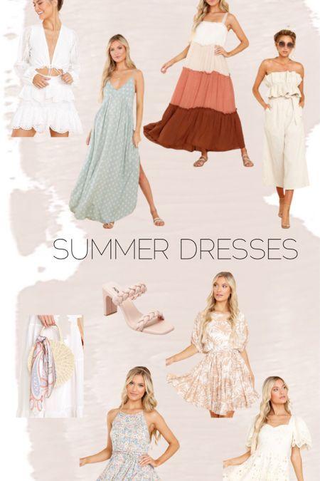 Summer dresses // heels // handbag // bump friendly // red dress http://liketk.it/3hSUv #liketkit @liketoknow.it #LTKunder100 #LTKbump #LTKstyletip