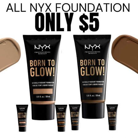 NYX cosmetics Makeup only $5 for foundation & $4 for concealer! #liketkit http://liketk.it/3hPES @liketoknow.it #LTKunder50 #LTKbeauty #LTKsalealert