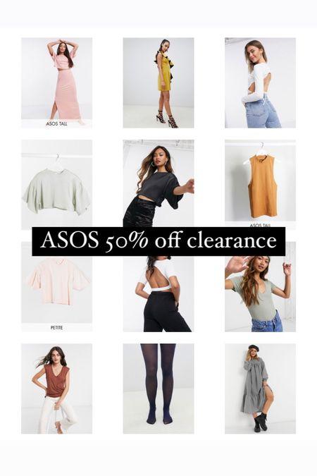 Shop an extra discount on ASOS clearance! http://liketk.it/38ree #liketkit #LTKunder50 #LTKstyletip @liketoknow.it