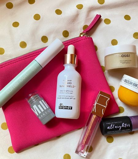 Must-have travel essentials for that last summer vacation. ☀️🏝 What's in your bag?   #LTKunder100 #LTKtravel #LTKbeauty