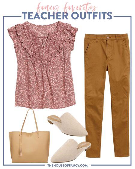 Such an easy teacher look! Throw on a cardigan for fall   #LTKSeasonal #LTKstyletip #LTKunder50