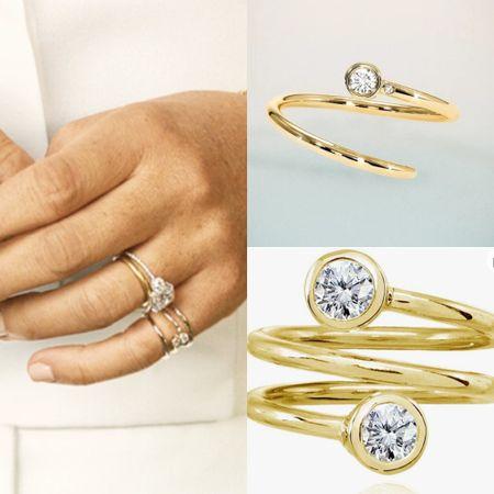 Meghan shiffon ring $525 dupe at Amazon #gift #under20  #LTKstyletip #LTKunder50