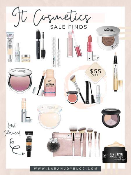 Lots of great sale finds from IT Cosmetics! http://liketk.it/39F5R #liketkit @liketoknow.it #LTKbeauty #LTKsalealert #LTKunder50