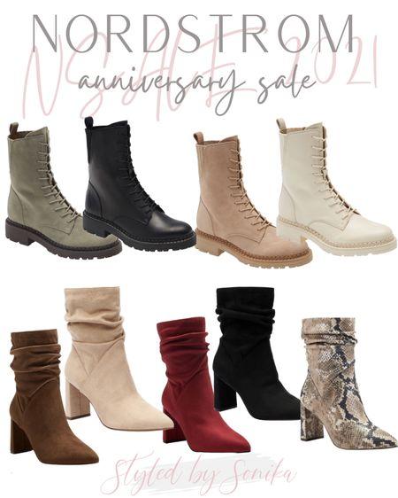 NSALE Nordstrom anniversary sale shoes boots booties combat boots   #LTKsalealert #LTKunder100 #LTKshoecrush