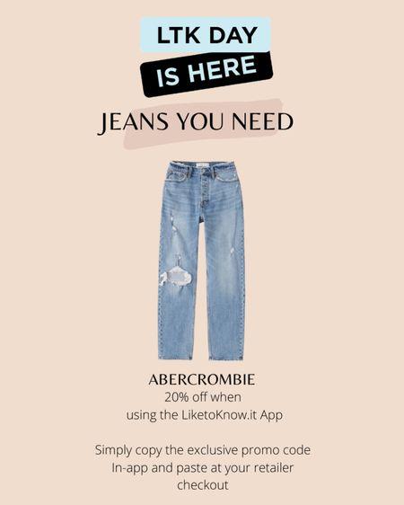 Favorite jeans from the LTK SALE @liketoknow.it #liketkit http://liketk.it/3hkEE #LTKsalealert #LTKDay