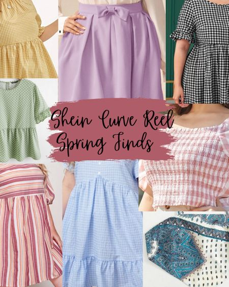 I am currently obsessed with all my spring finds on Shein! These outfits came from my reel I posted on Instagram! http://liketk.it/3b0jS #liketkit @liketoknow.it #LTKSpringSale #LTKcurves #LTKstyletip