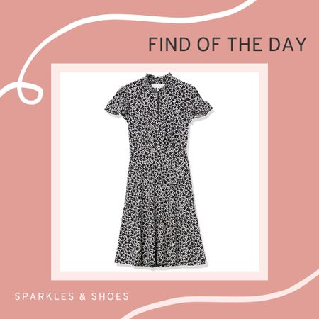 I love a good end of season sale and this cute dress is on sale for less than $16!  It's the Lark & Ro Ruffle Dress available through #AmazonFashion and I love anything that has elastic in it! #findoftheday #salealert  #LTKsalealert #LTKunder50