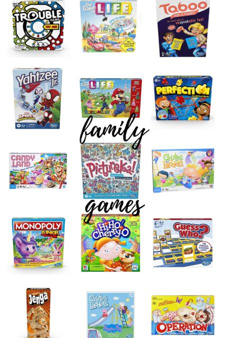 Games make great gifts! Fun for kids of all ages with these classics. Some on sale!   #LTKunder50 #LTKGiftGuide #LTKsalealert