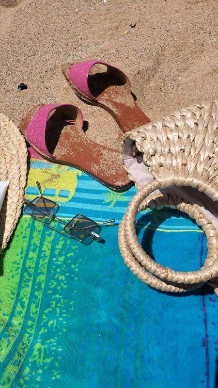 Everything under $50 Beach essentials 🌸💗 #ltkseasonal #ltkunder50 #ltksummer