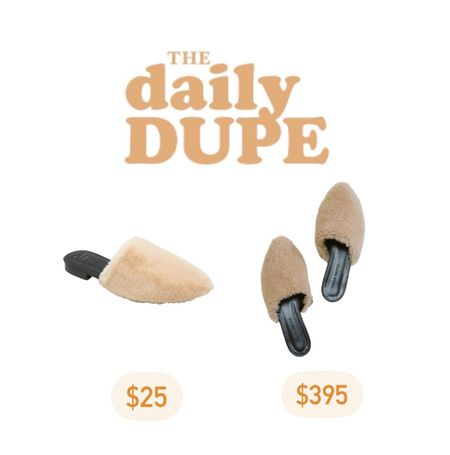 Fuzzy Mules, Sherpa, Women's Shoes, Target Find, Save vs Splurge, Daily Dupe     #LTKstyletip