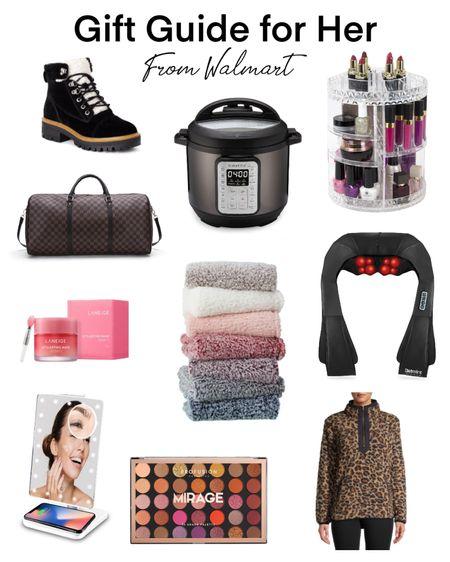 Gift guide, gift guide for her, gifts for her, Walmart finds, Walmart fashion. #liketkit #LTKunder50 #LTKbeauty #LTKgiftspo @liketoknow.it http://liketk.it/33et5