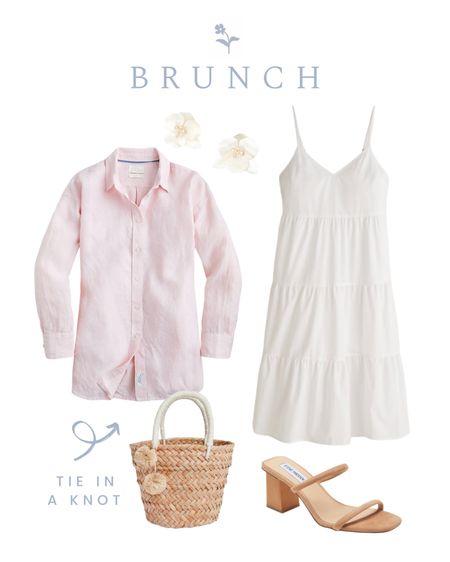 Bunch outfit, pink linen button down http://liketk.it/3jbpm #liketkit @liketoknow.it