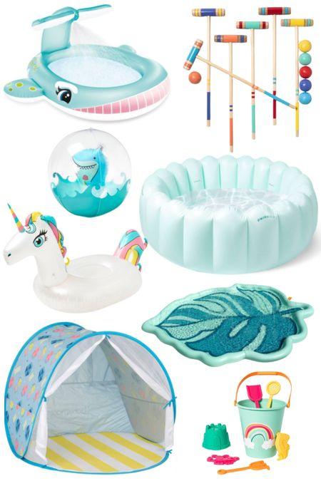 Outdoor toys and swim for kids http://liketk.it/3gpxd #liketkit @liketoknow.it #LTKkids #LTKfamily #LTKswim @liketoknow.it.family
