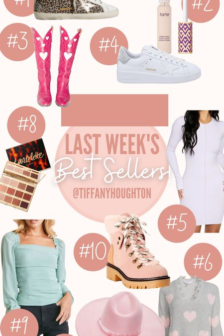 Last weeks best sellers! I am loving all of these products from the golden goose sneakers to the forever 21 top! I am so glad you guys are loving them too! #goldengoose #tarte #amazon #nordstrom #forever21  #LTKHoliday #LTKSeasonal #LTKGiftGuide