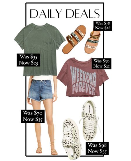 Daily deals! Madewell sale finds, aerie sale finds, casual outfits, casual style, fashion sneakers    #LTKsalealert #LTKSeasonal #LTKunder50