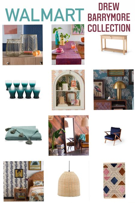 (#sponsored) One of our all time favorite lines from #Walmart is the Drew Barrymore collection! Decor, furniture, bath, kitchen and more! Check out a few of our favorites here! #walmarthome @walmart  #LTKSeasonal #LTKunder50 #LTKhome