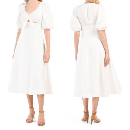 Pretty white dress @liketoknow.it http://liketk.it/3gvKH #liketkit #LTKwedding #LTKunder100 #ltkseasonal