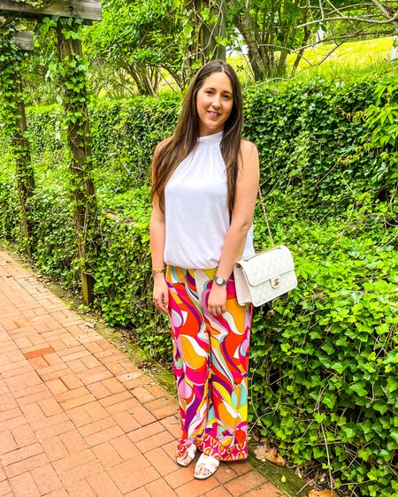 Groovy pants for a fireside sunset 🌸☀️ http://liketk.it/3hOT9 #liketkit @liketoknow.it Download the LIKEtoKNOW.it shopping app to shop this pic via screenshot