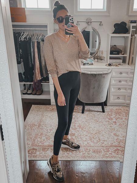 Lululemon leggings, basic tee from shein, diff sunglasses, Steve Madden sneakers