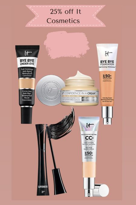 It cosmetics 25% off when you copy the code   #LTKSale #LTKbeauty #LTKsalealert