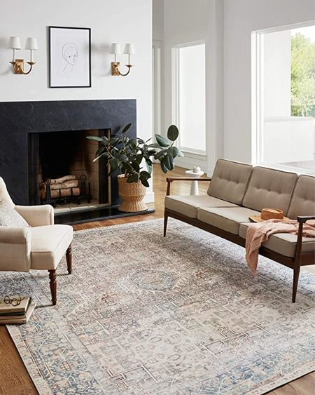 Farmhouse rugs on sale ,amazon rugs   #LTKhome #LTKsalealert #LTKstyletip
